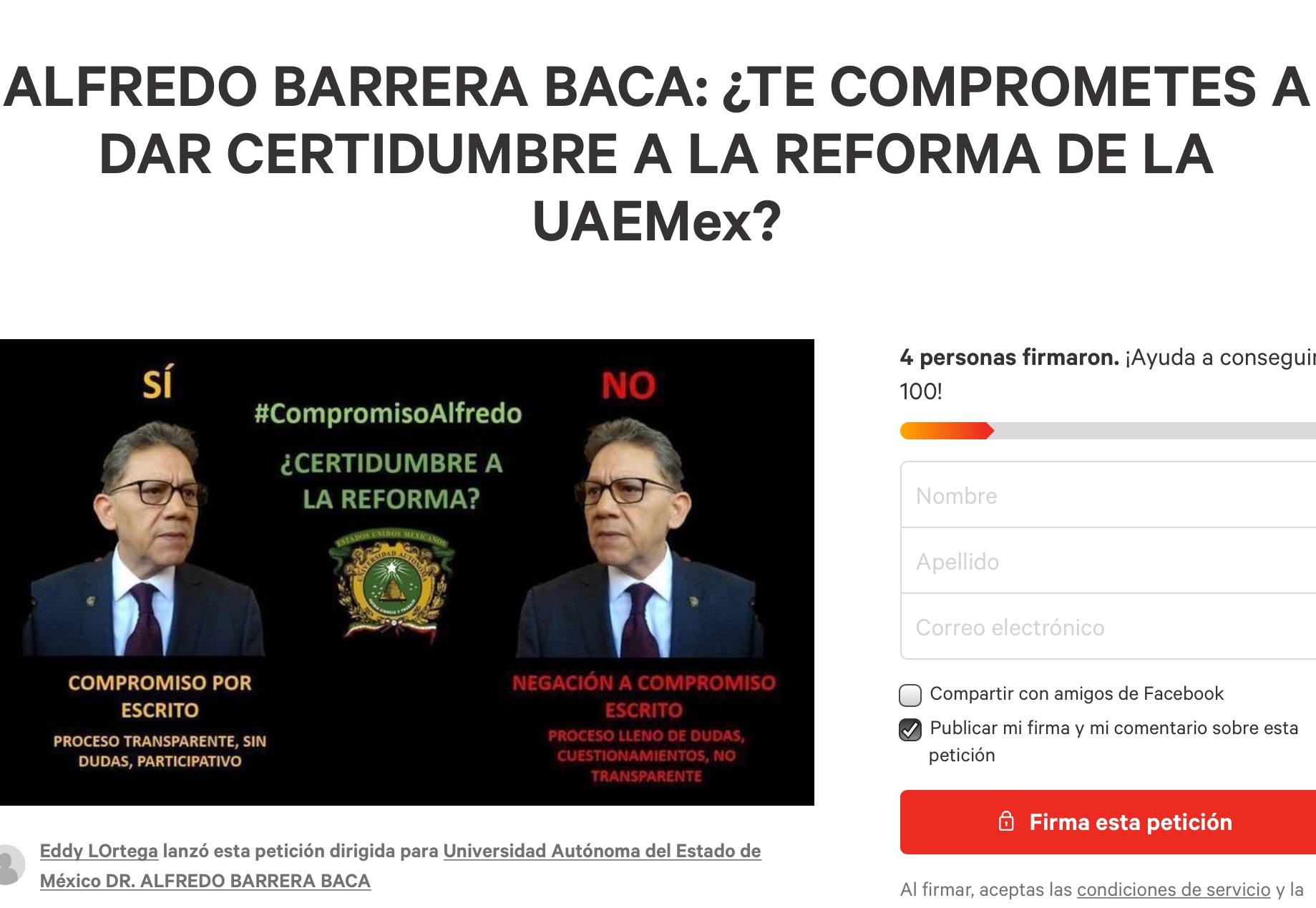 """""""Papelito habla"""", comunidad universitaria a rector"""