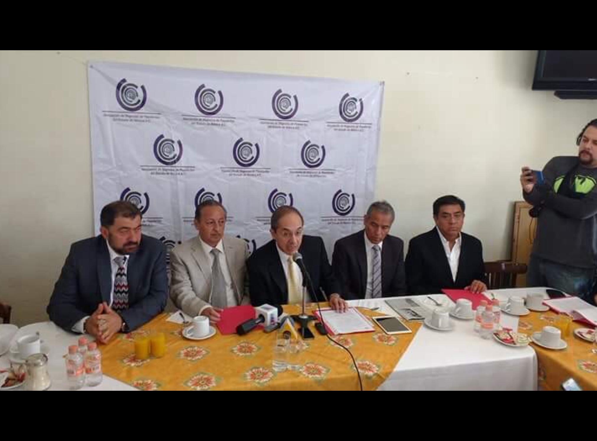Empresarios se lanzan contra gobierno de Edoméx