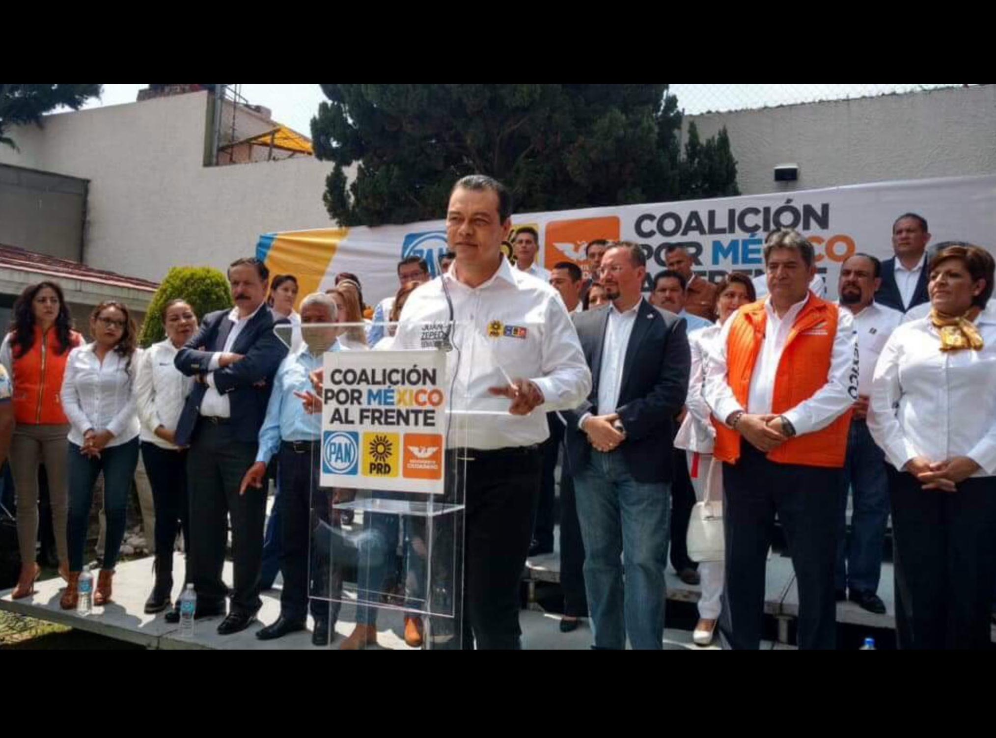 """Ofrece """"Frente-Edoméx"""" 3 millones de votos para Anaya"""