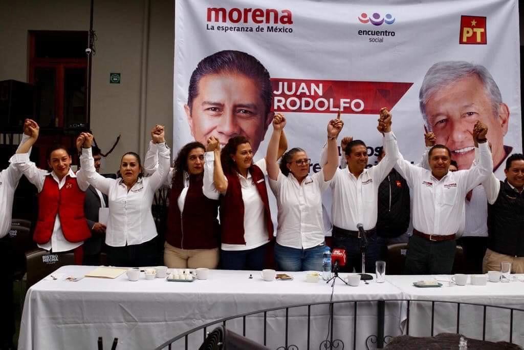 No hay división en MORENA-Toluca, afirma JuanRo