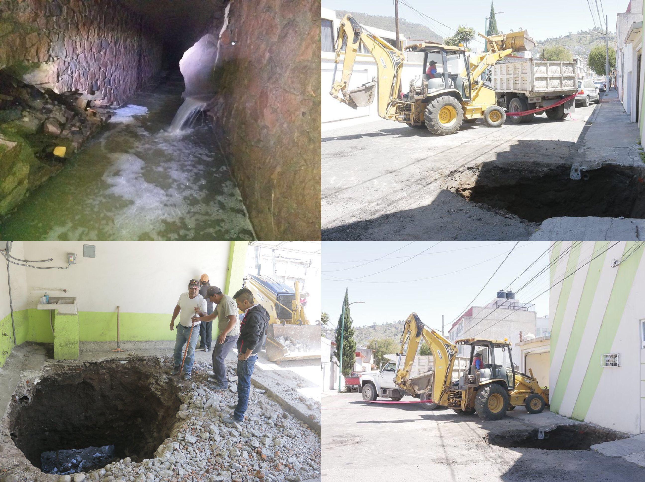 Se abre suelo en Toluca