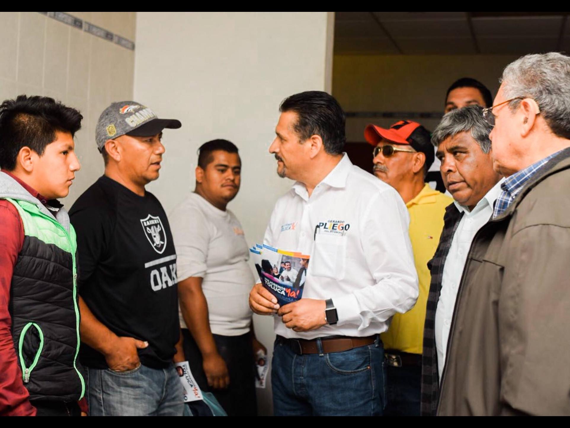 Efecto AMLO no llegará a urnas en Toluca: Pliego