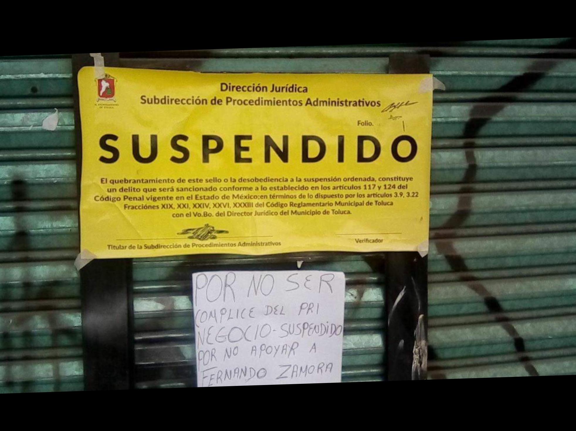 """Activan """"operación reelección"""" en Toluca"""