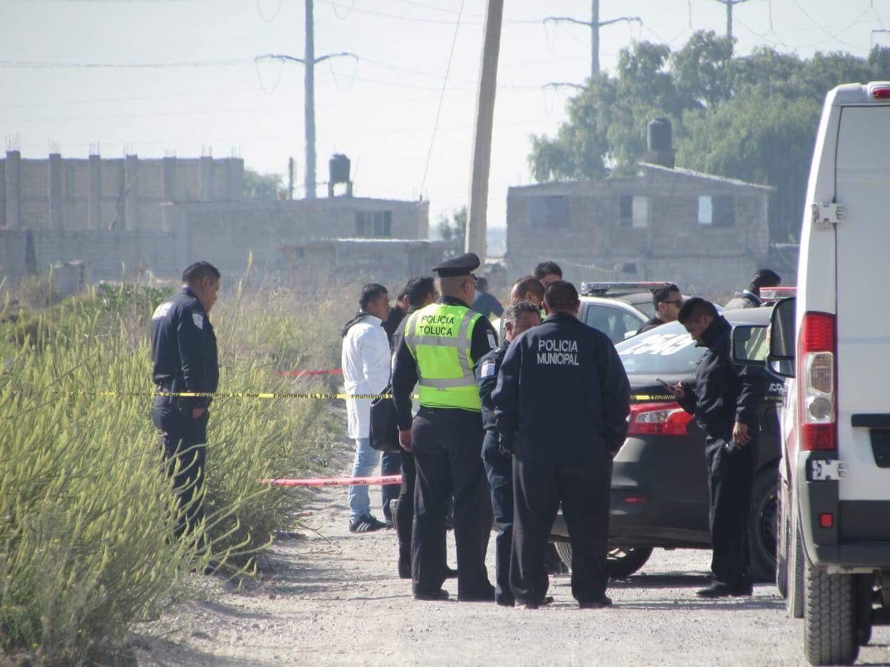 Abandonan ejecutado en Toluca