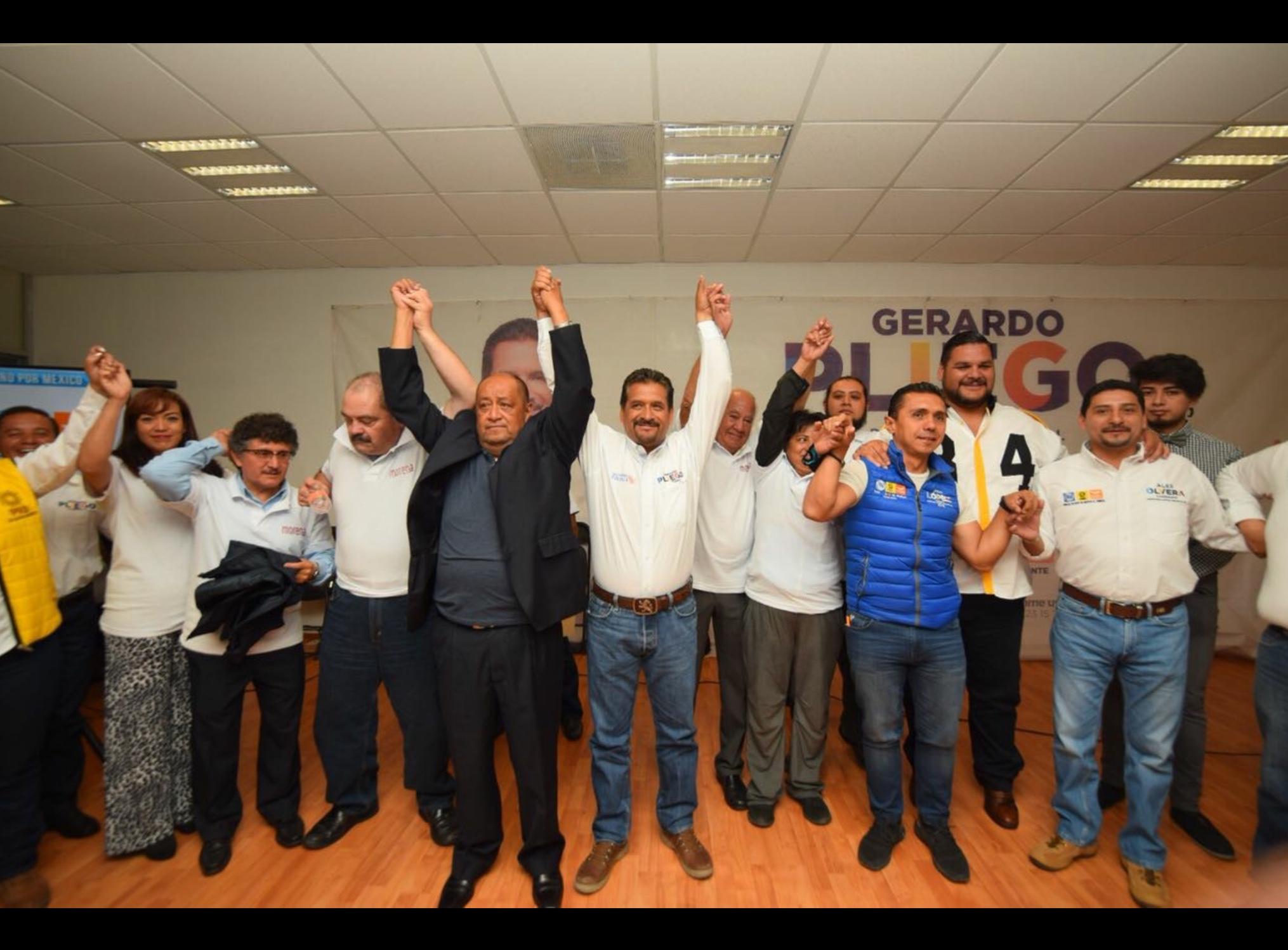 Se va fundador de MORENA-Toluca con Gerardo Pliego