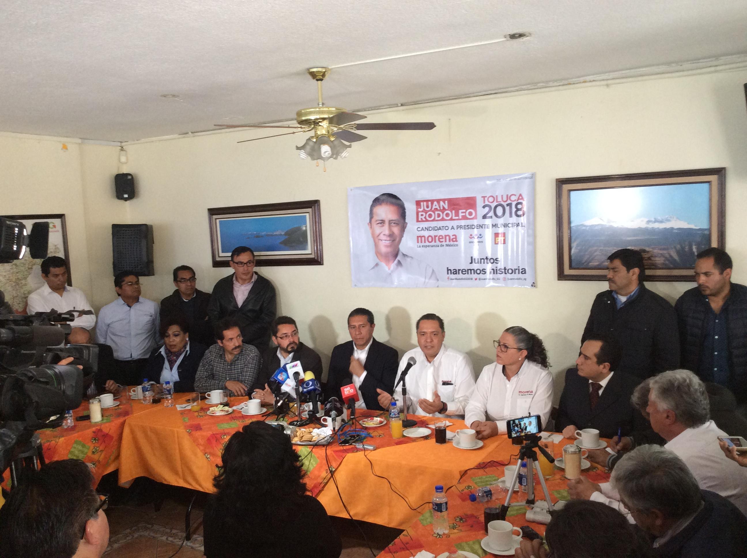 Zamora rehúye a otro debate, ahora al del IEEM