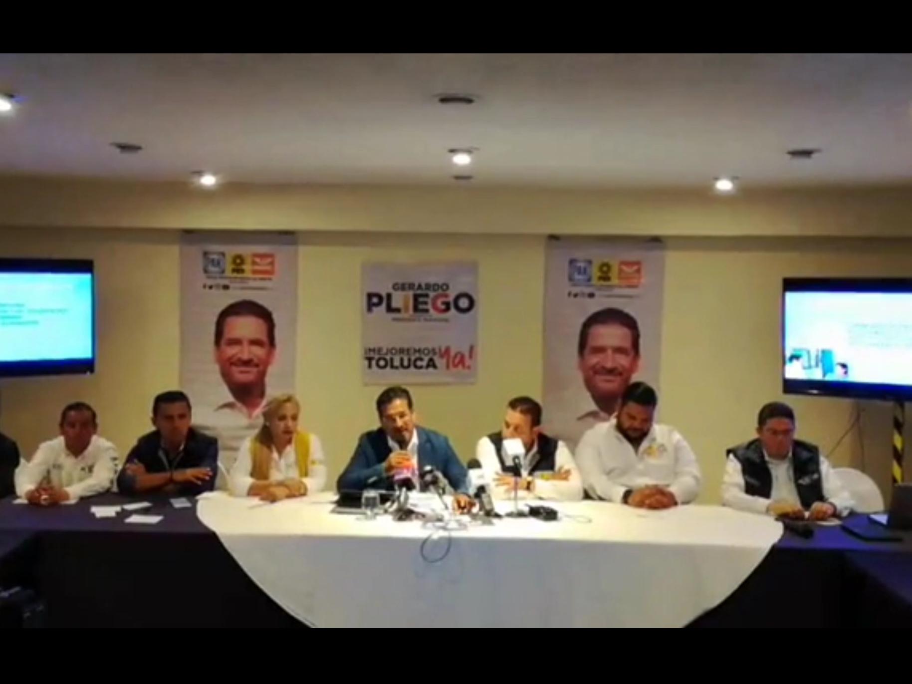 Levanta la mano Gerardo Pliego para debate