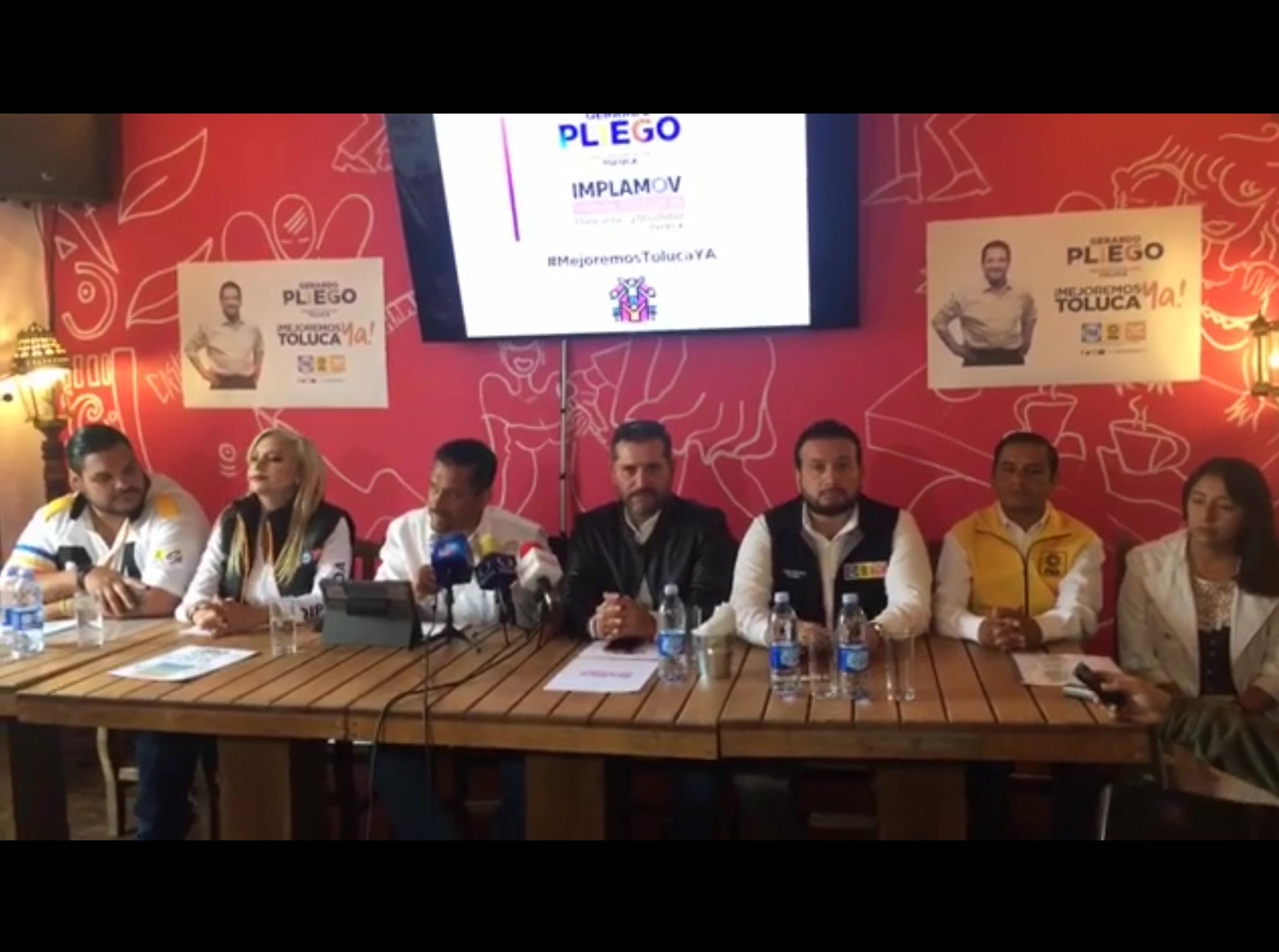 """Candidatos de """"El Frente"""" se lanzan contra José Hernández"""