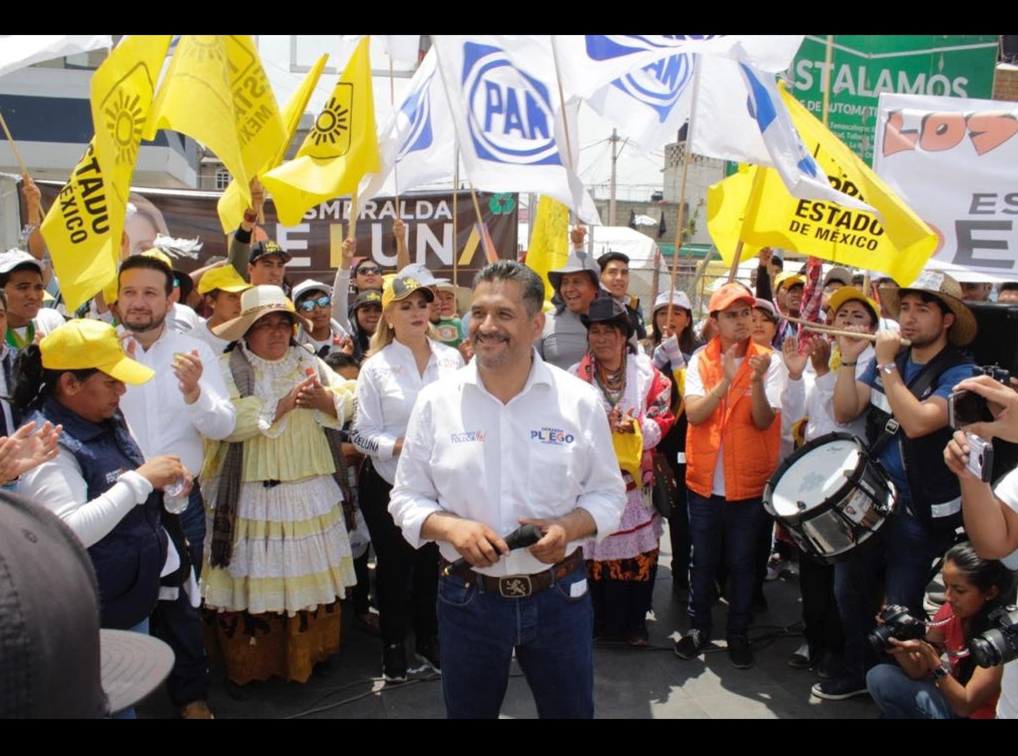 Cambiarle el rostro a Toluca es la demanda ciudadana: Pliego