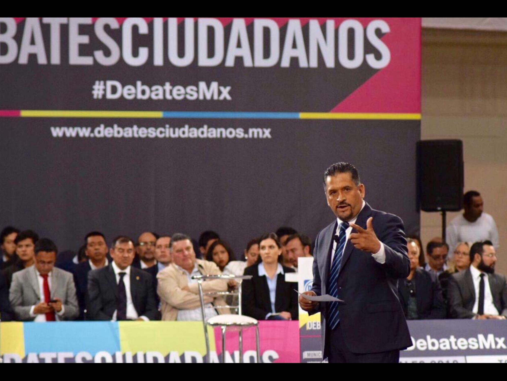 Salí airoso del debate: Gerardo Pliego