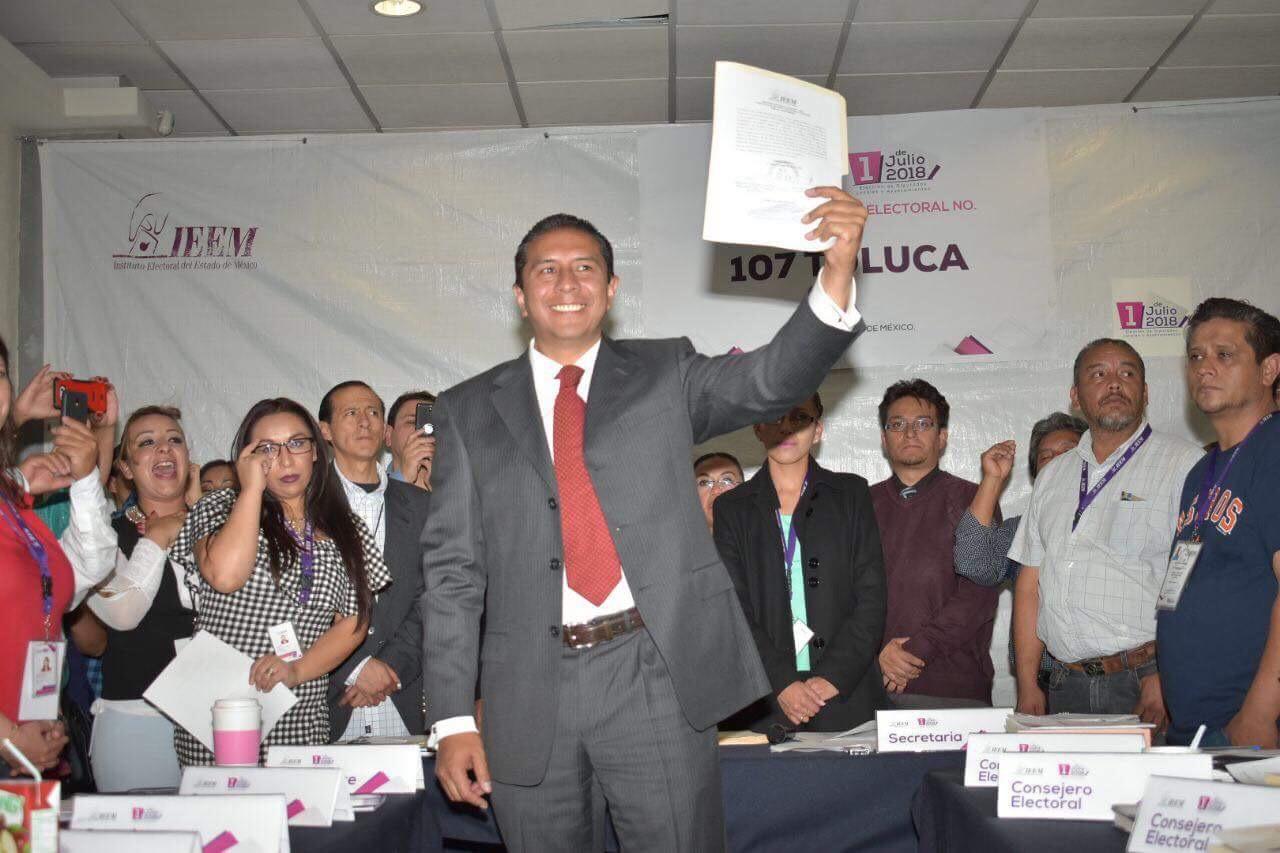 Oficializan triunfo de JuanRo en Toluca