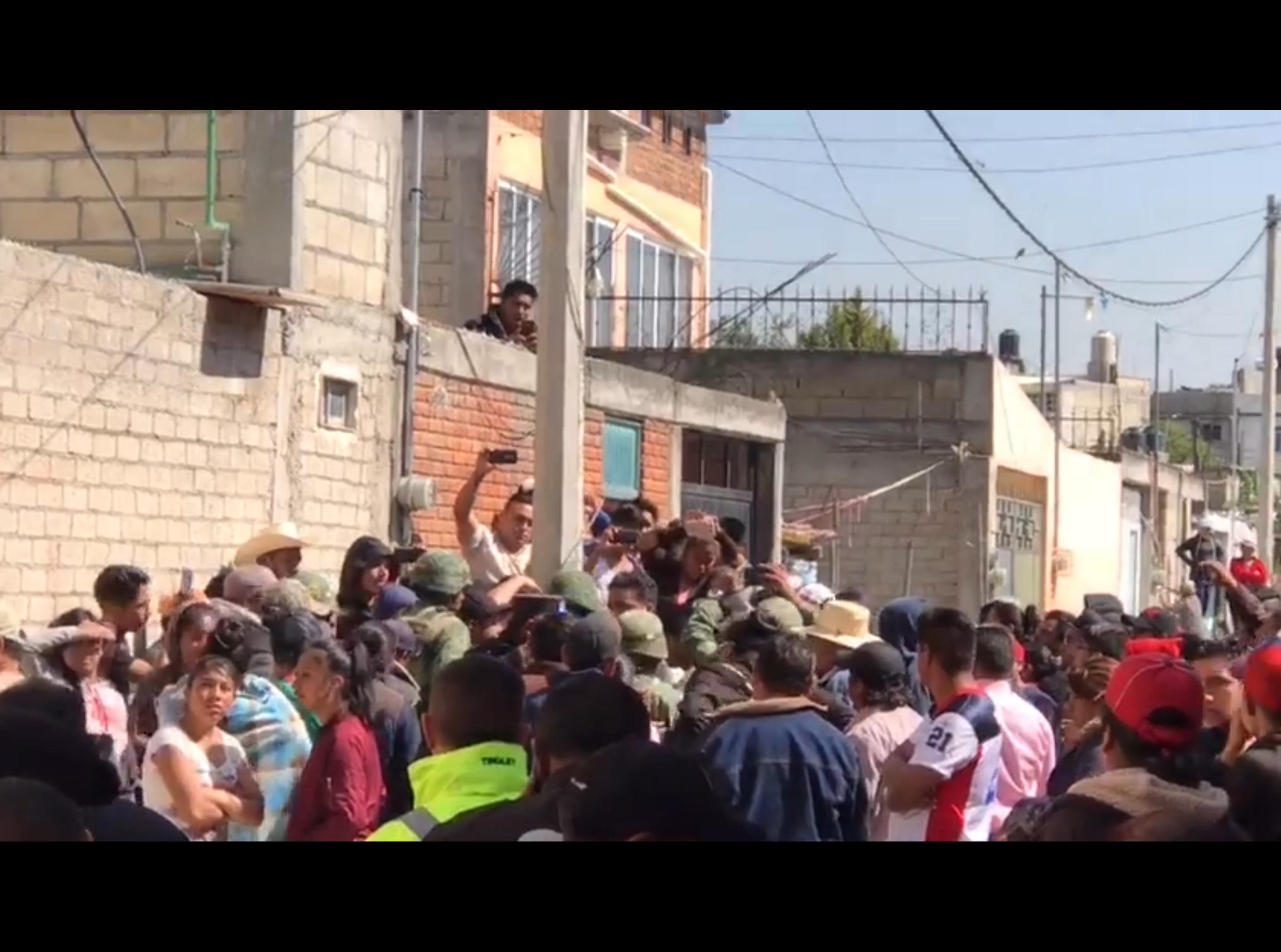 Crece hartazgo, otro intento de linchamiento en Toluca
