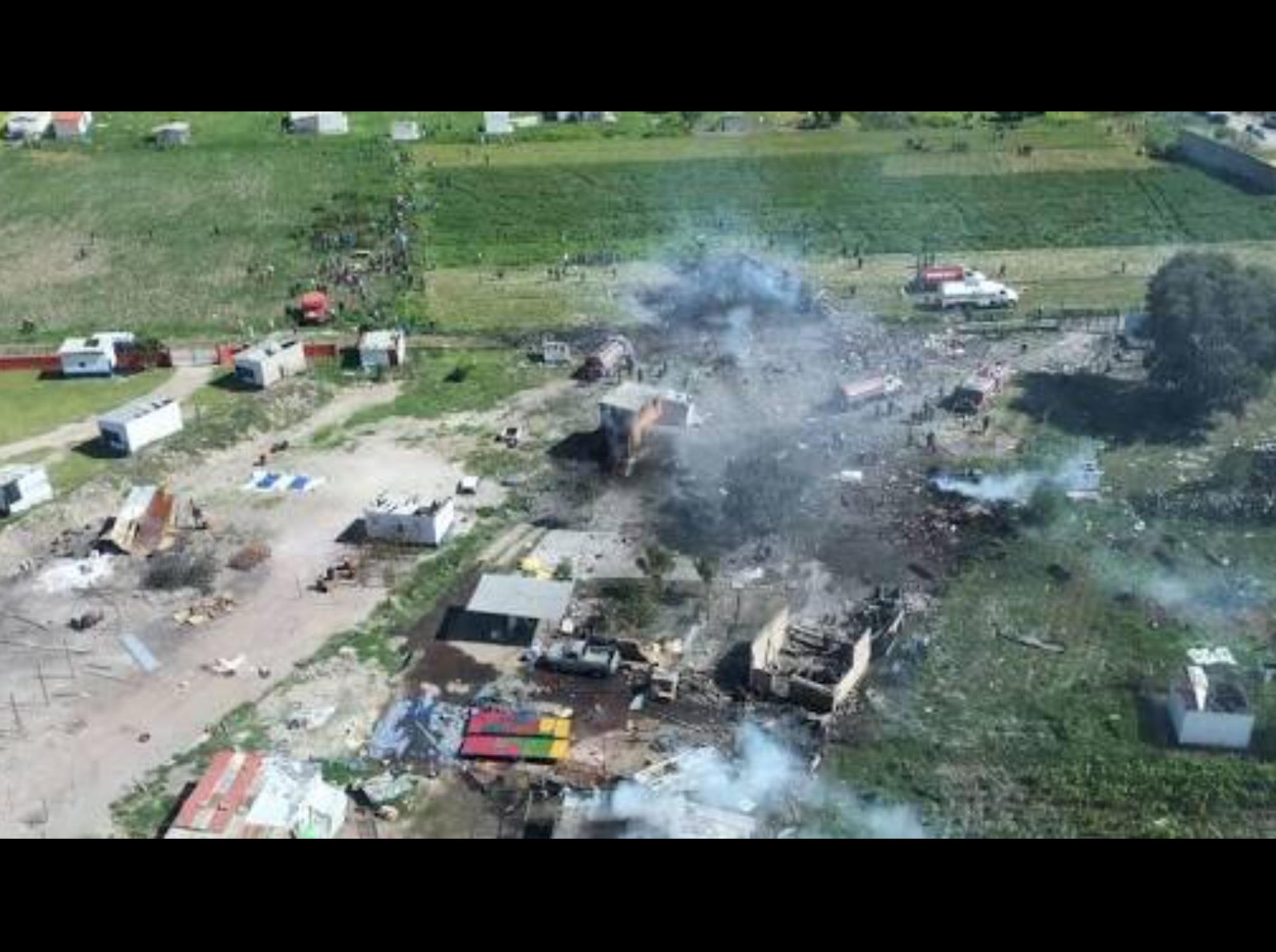 Solicita Codhem medidas precautorias por explosiones en Tultepec