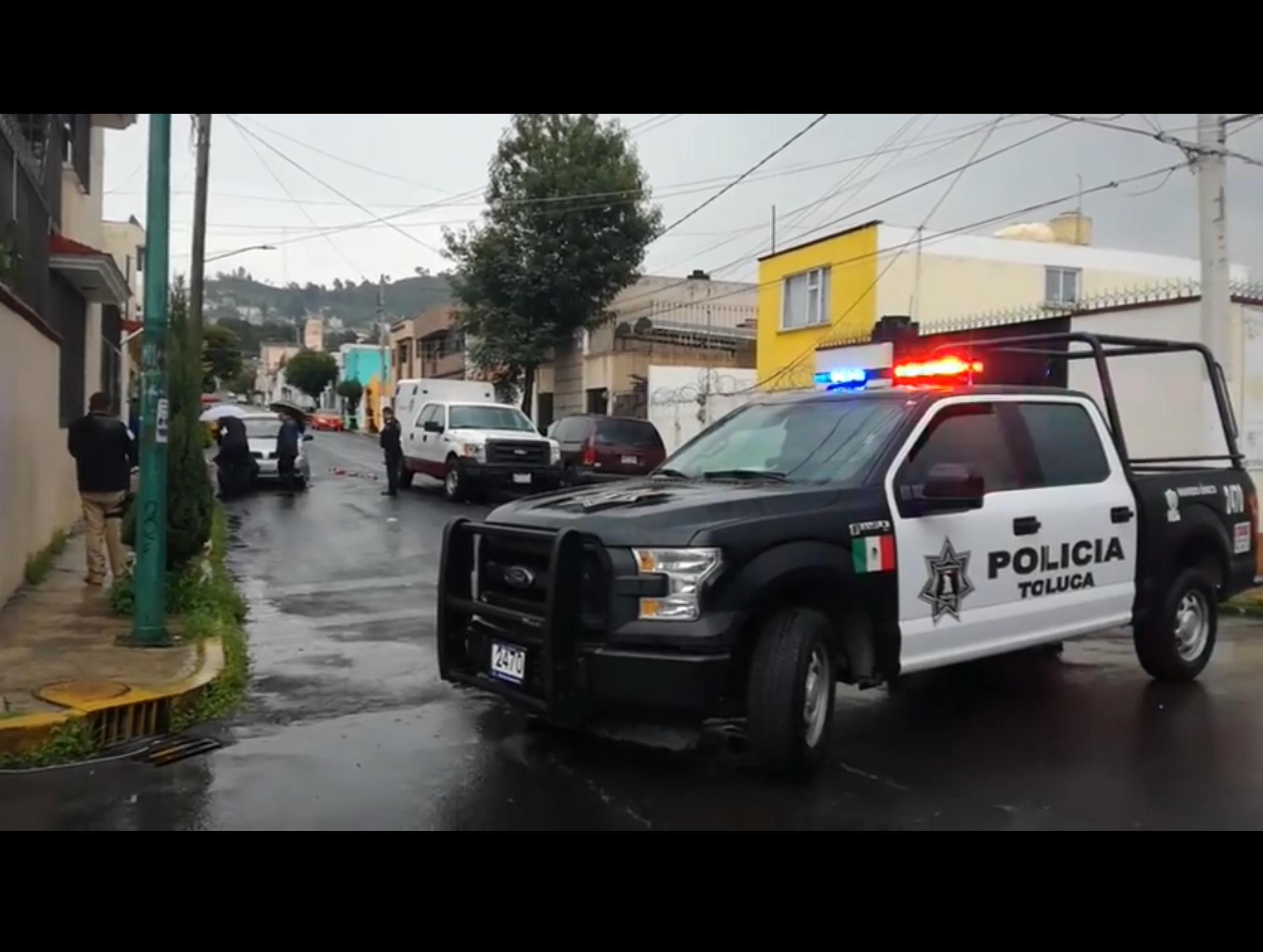 A balazos, asesinan a hombre en Toluca