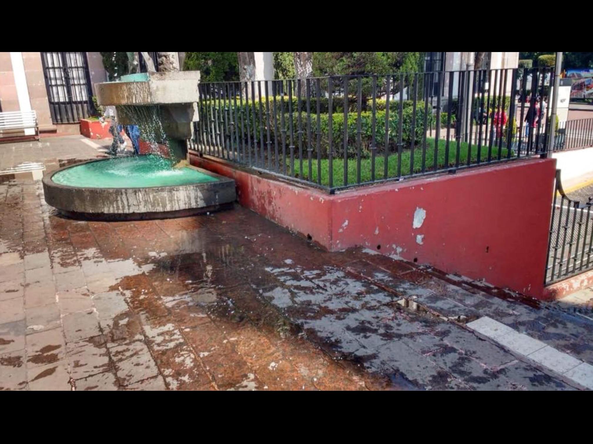 Disminuye suministro de agua en Toluca
