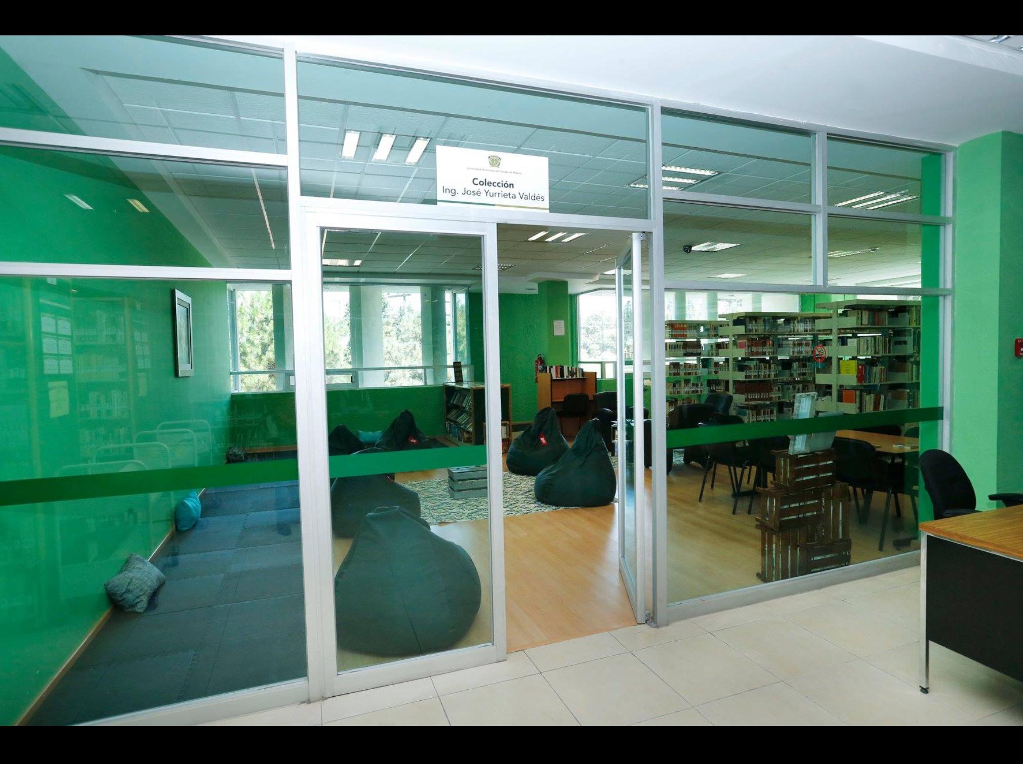 Instala UAEM sala de lectura en biblioteca central