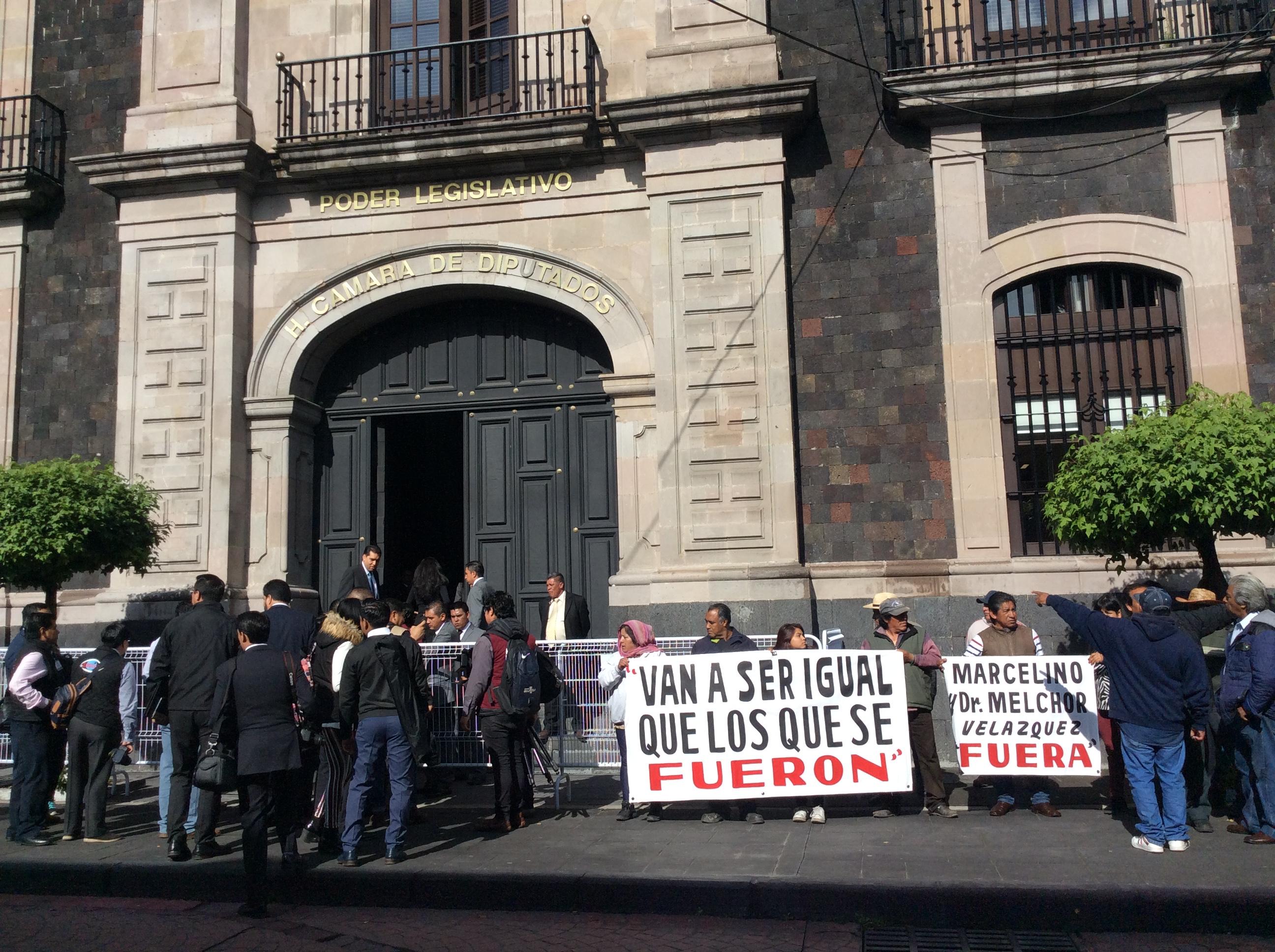 Increpan a Del Mazo en Toluca