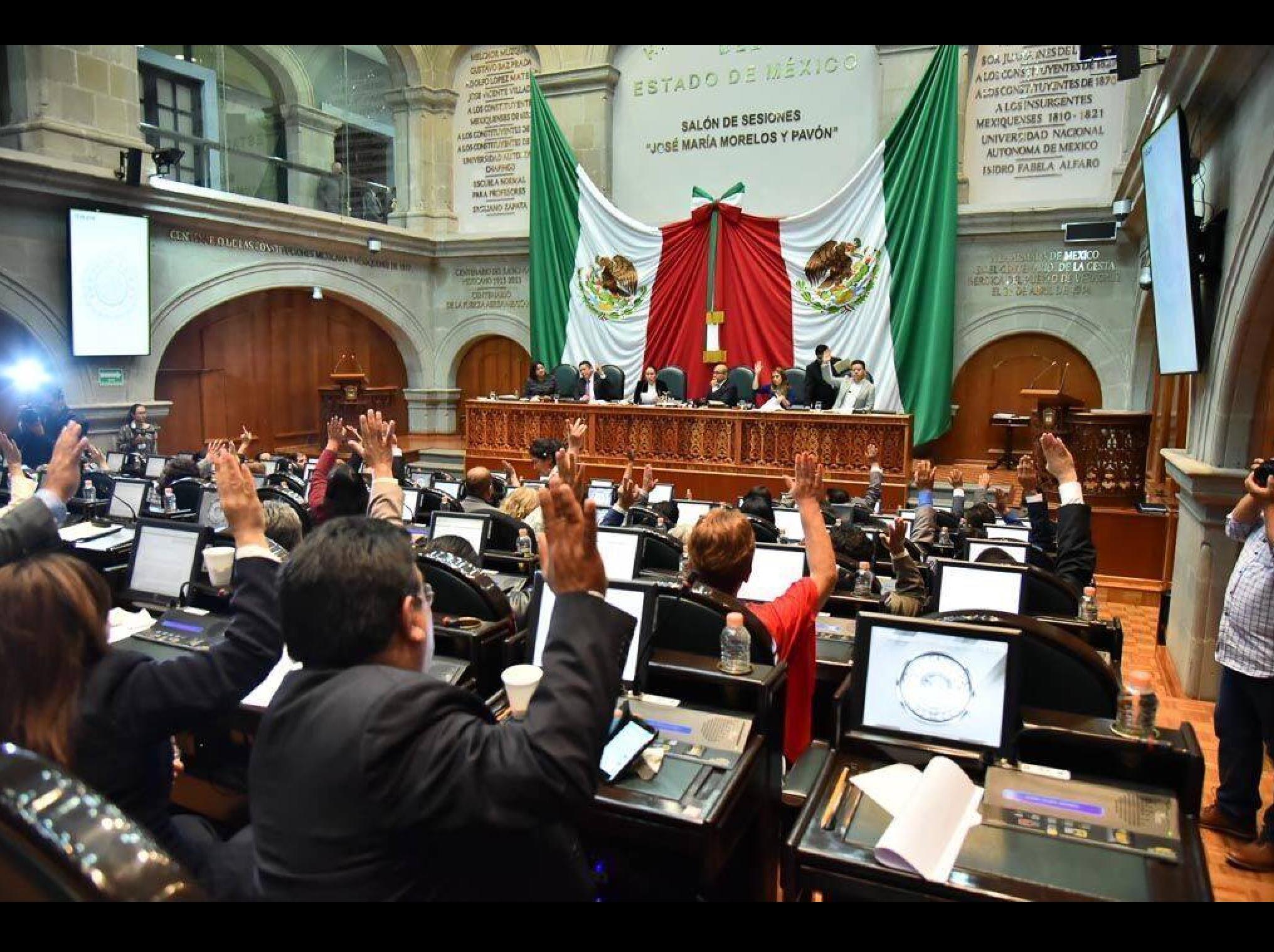 Desaparecen PAC en Legislatura de Edoméx