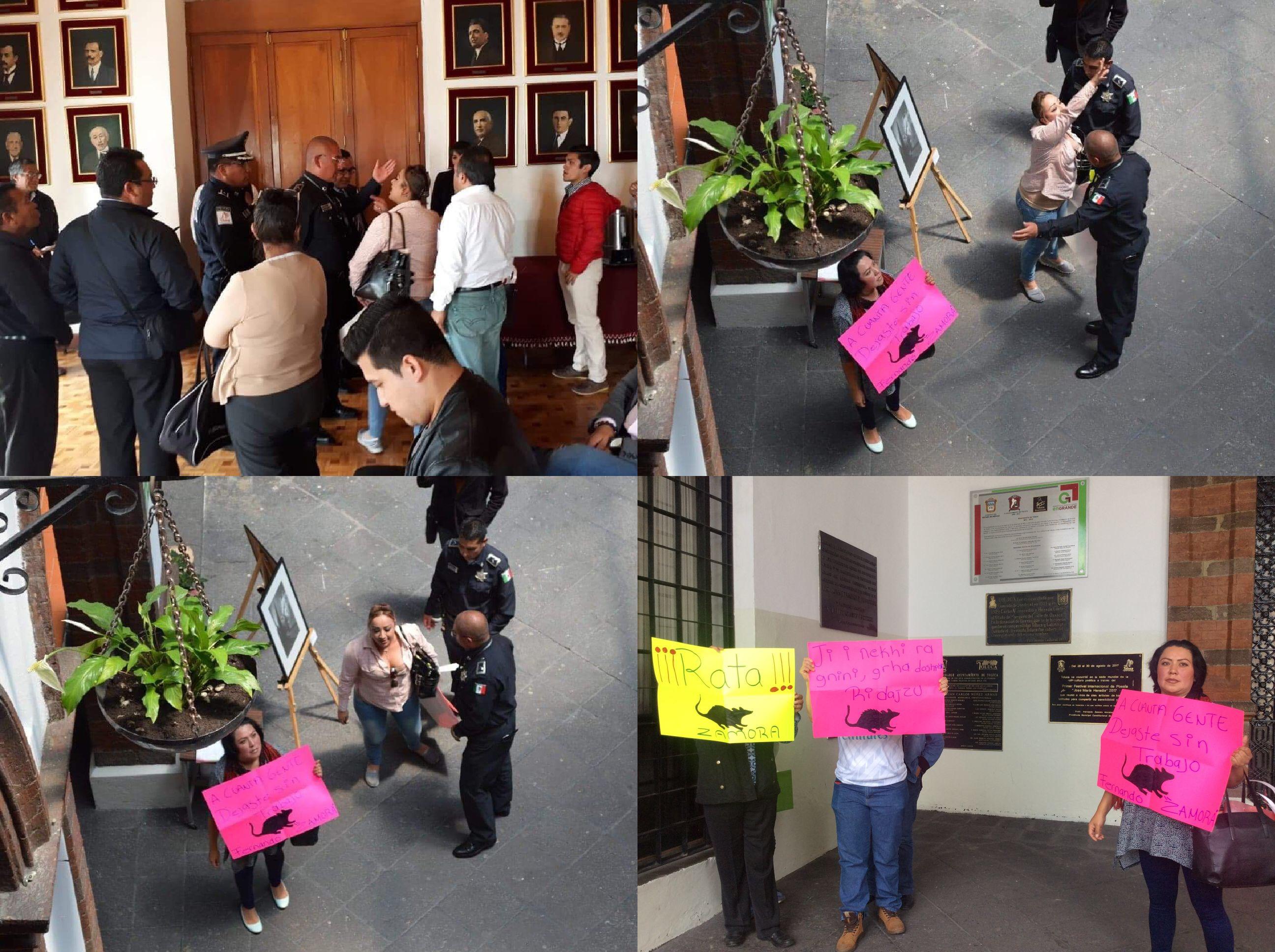 Por segunda vez, echan a ciudadanas de Cabildo en Toluca