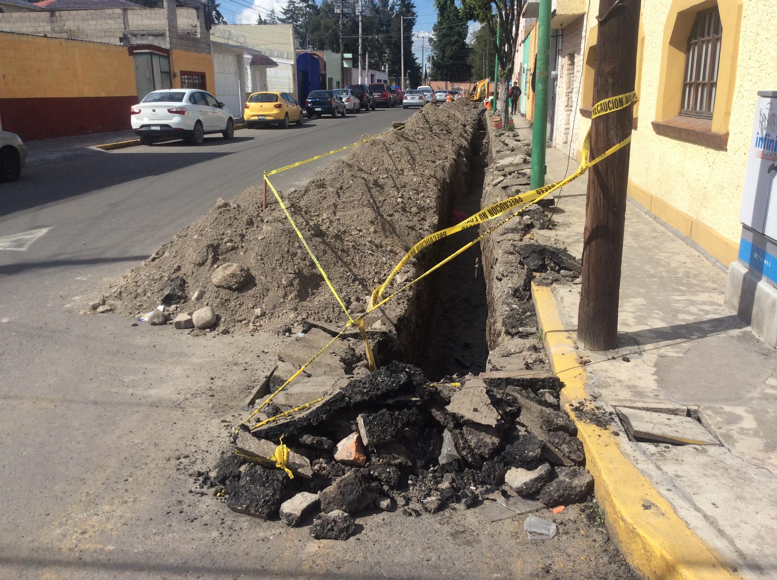 Rehabilitación de calles, el sinsentido en Toluca