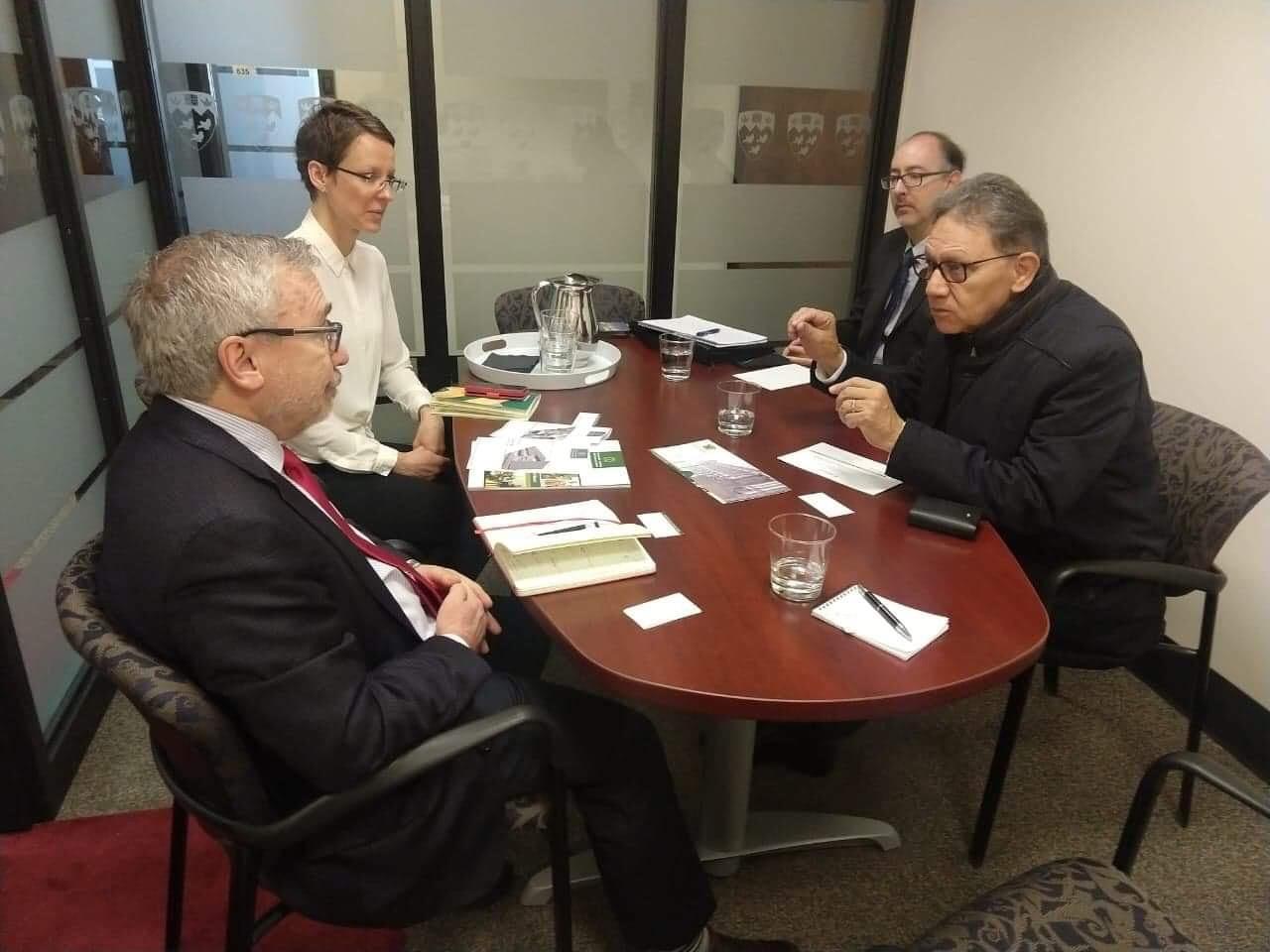 UAEM estrecha relaciones con Canadá