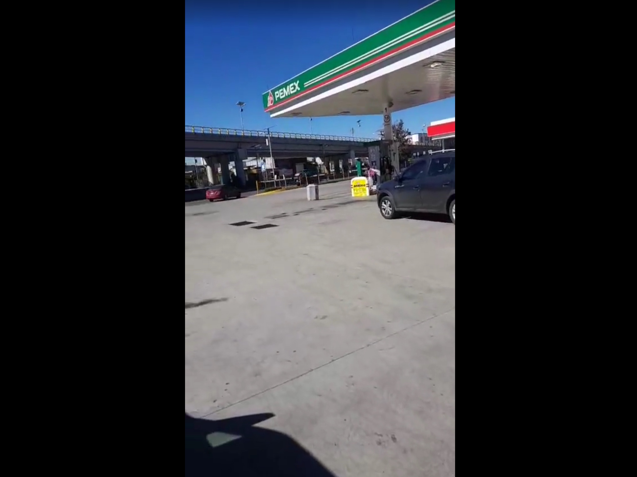 Escasez de gasolina en Valle de Toluca