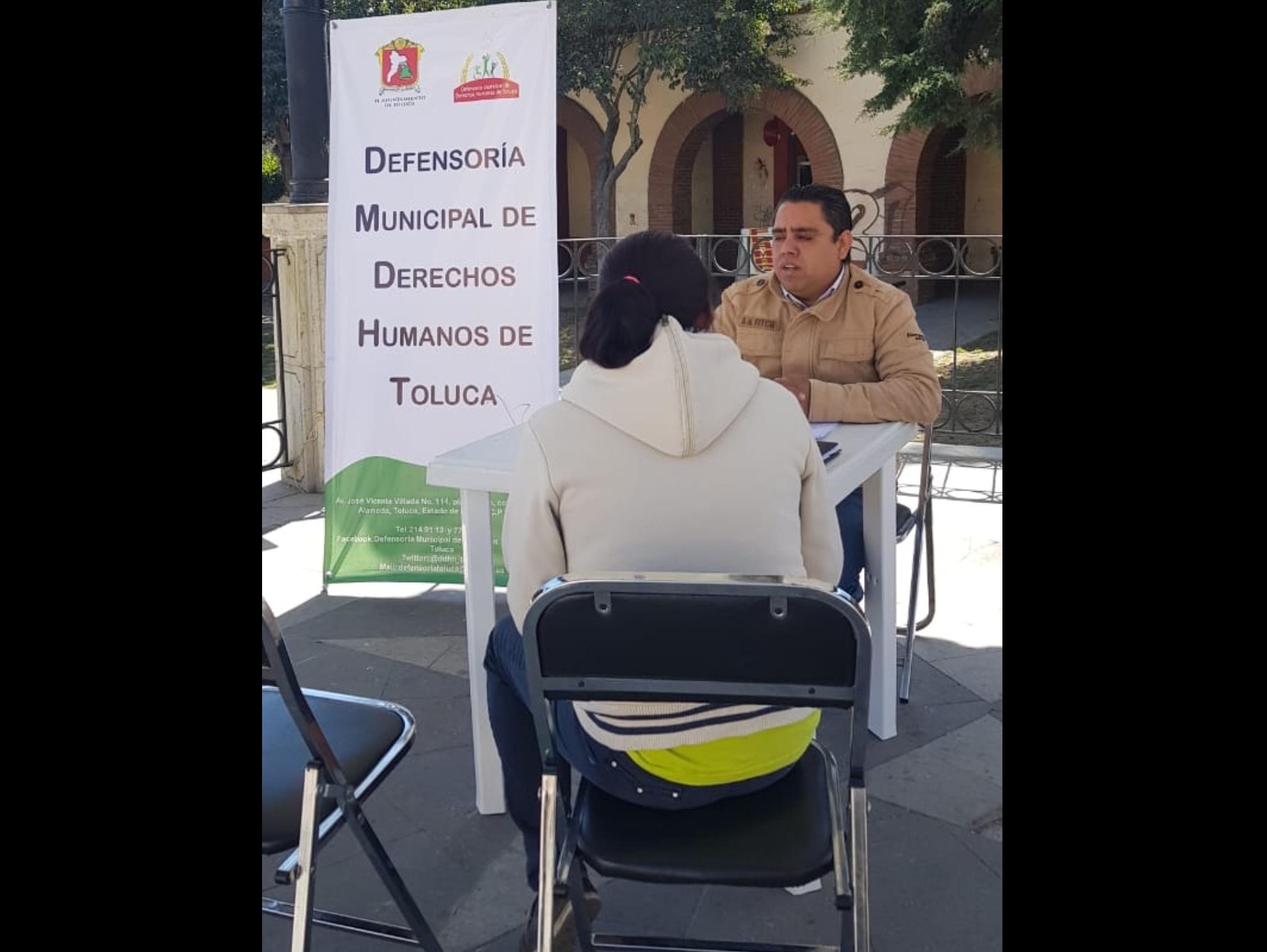 """Arma Toluca """"clases"""" sobre Derechos Humanos"""