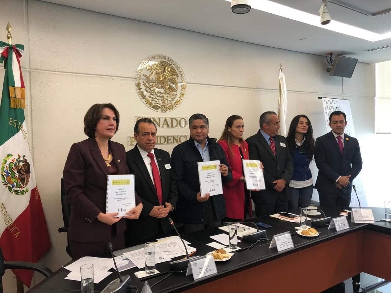 Sociedad civil presenta propuesta de Ley General de Seguridad Vial
