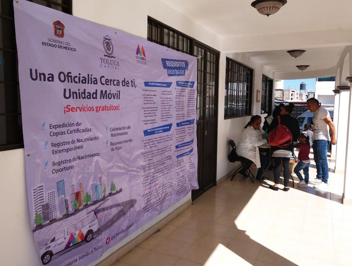 Llega Registro Civil móvil a San Andrés Cuexcontitlán