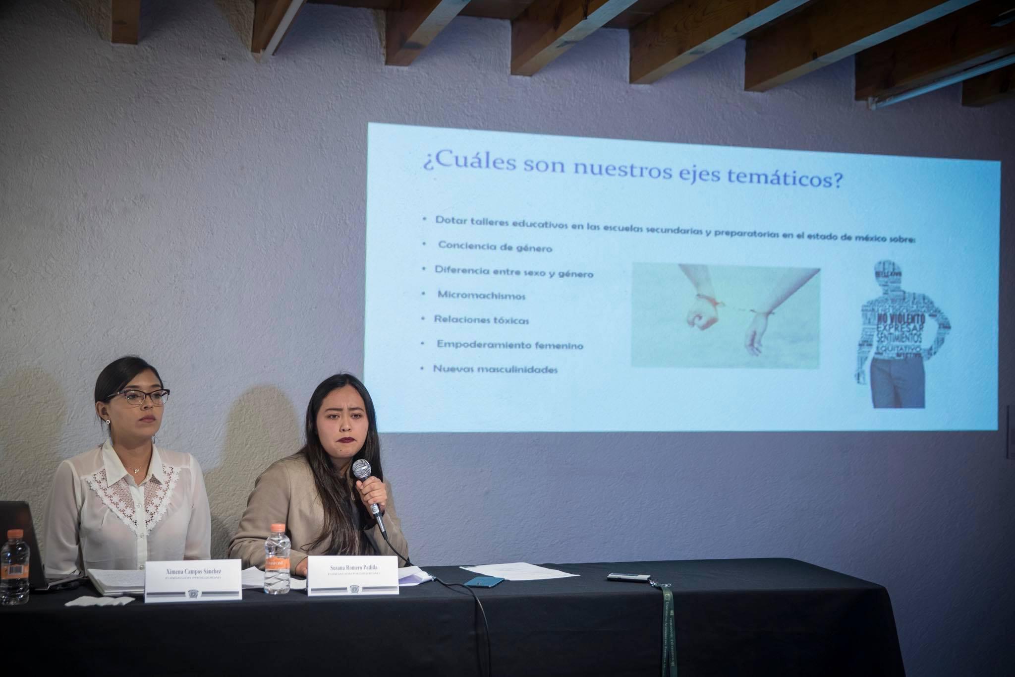 Llevan perspectiva de género a escuelas de Toluca