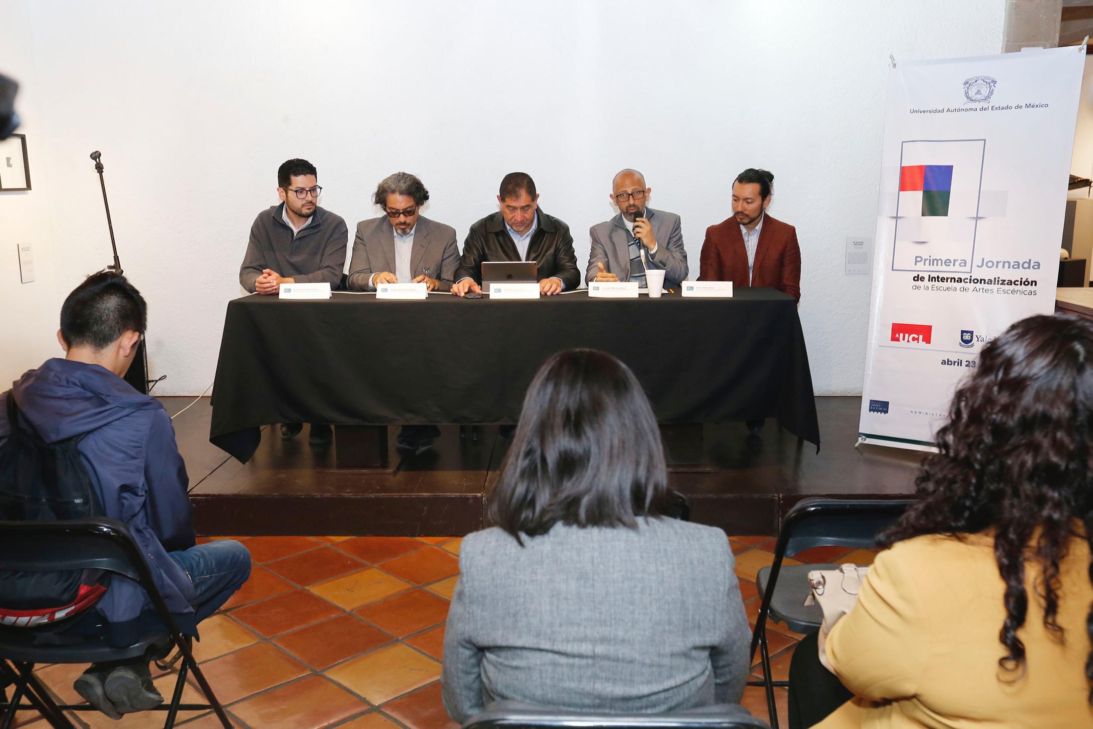 Arma Artes Escénicas de UAEM jornada de internacionalización