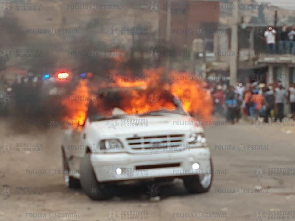 Intento de linchamiento en zona norte de Toluca