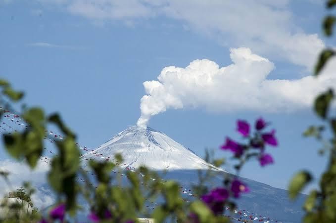 Mantienen alerta volcánica del Popocatépetl