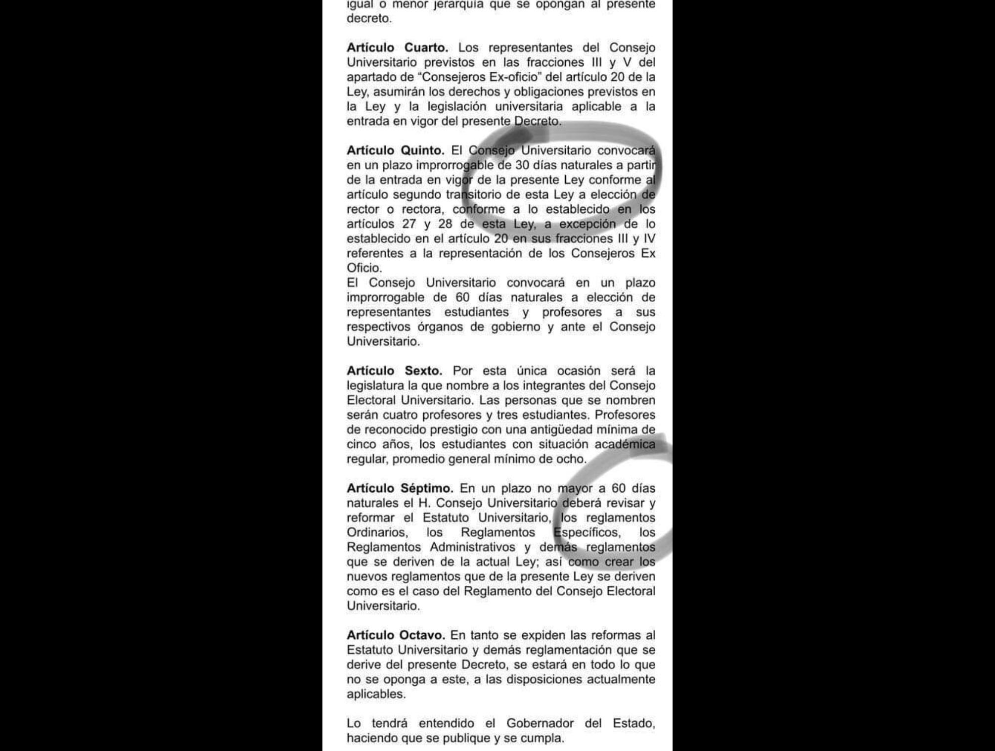Con respaldo de MORENA, exigen renuncia del rector de UAEM
