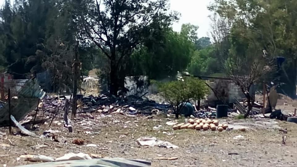 Por enésima vez, explosiones en polvorines de Tultepec