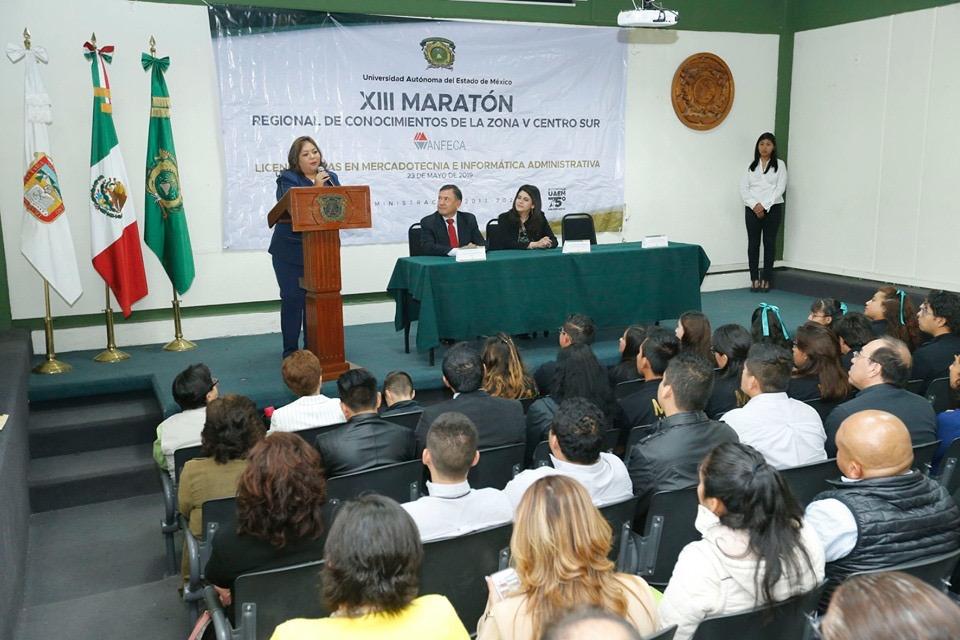 Arrasa UAEM con Maratón Regional de Conocimientos