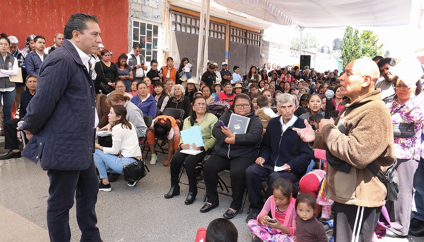 Toluca tiene el compromiso de ser un gobierno diferente: JRSG