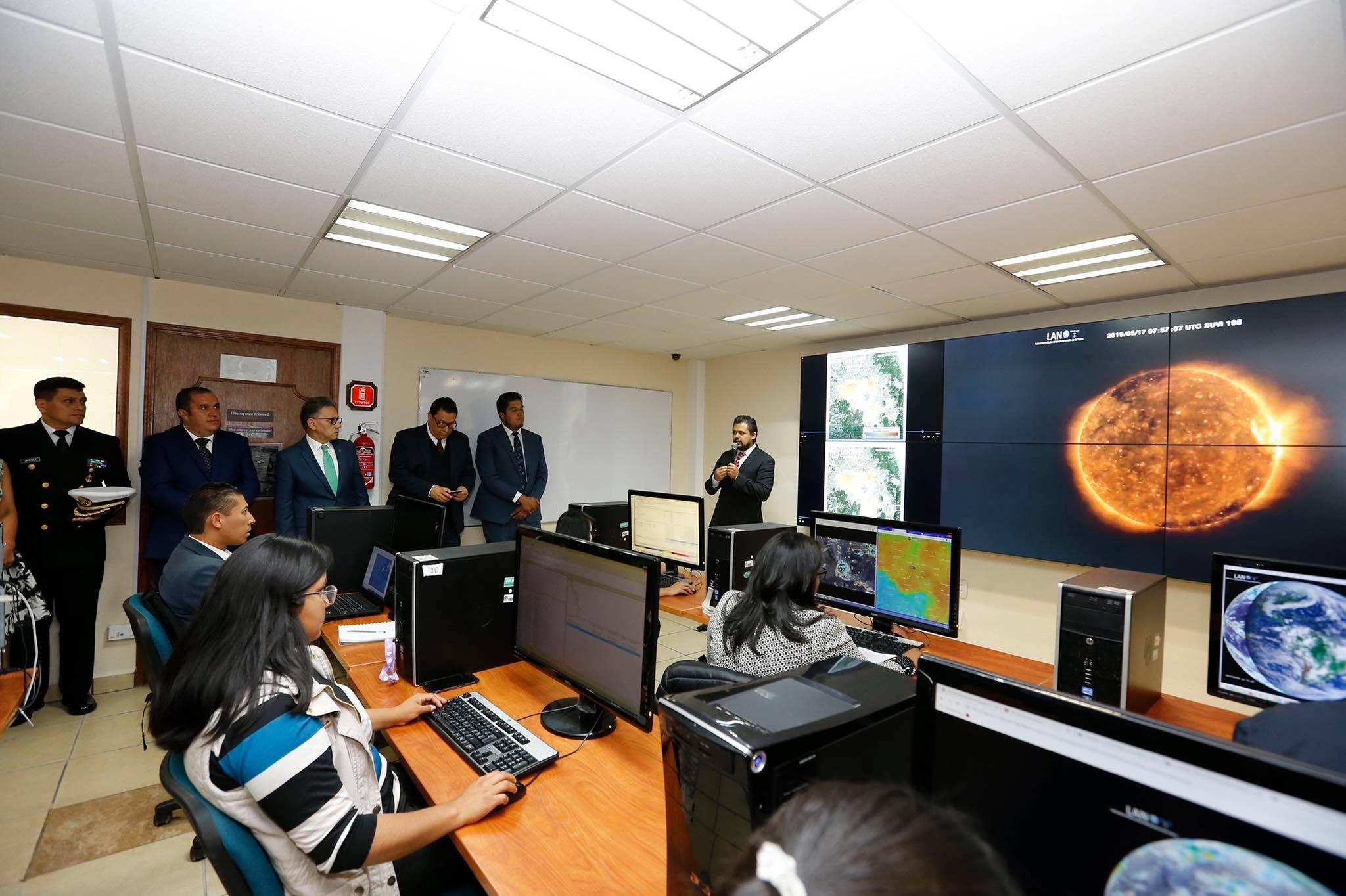 Vigila UAEM la tierra desde el espacio