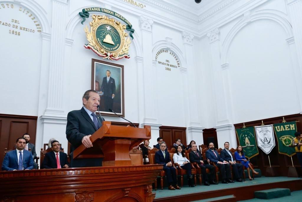 Pide Muñoz Ledo serenarse a PAN, PRI, MC y PRD