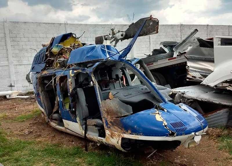 """""""Helicopterazo"""" en Sultepec, fue provocado por bala de policía"""