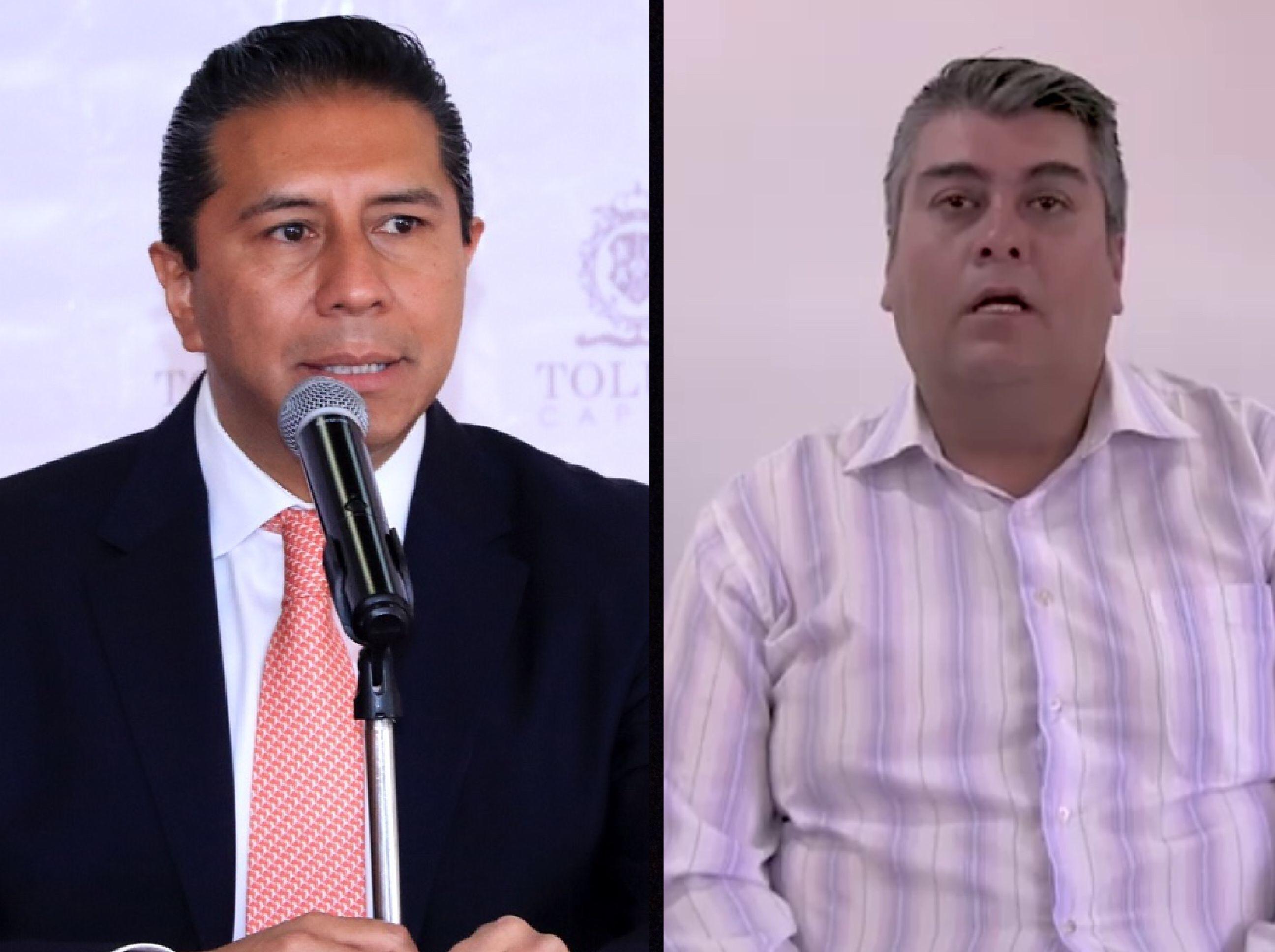Corrupción, confronta a JuanRo y expolicía de Toluca