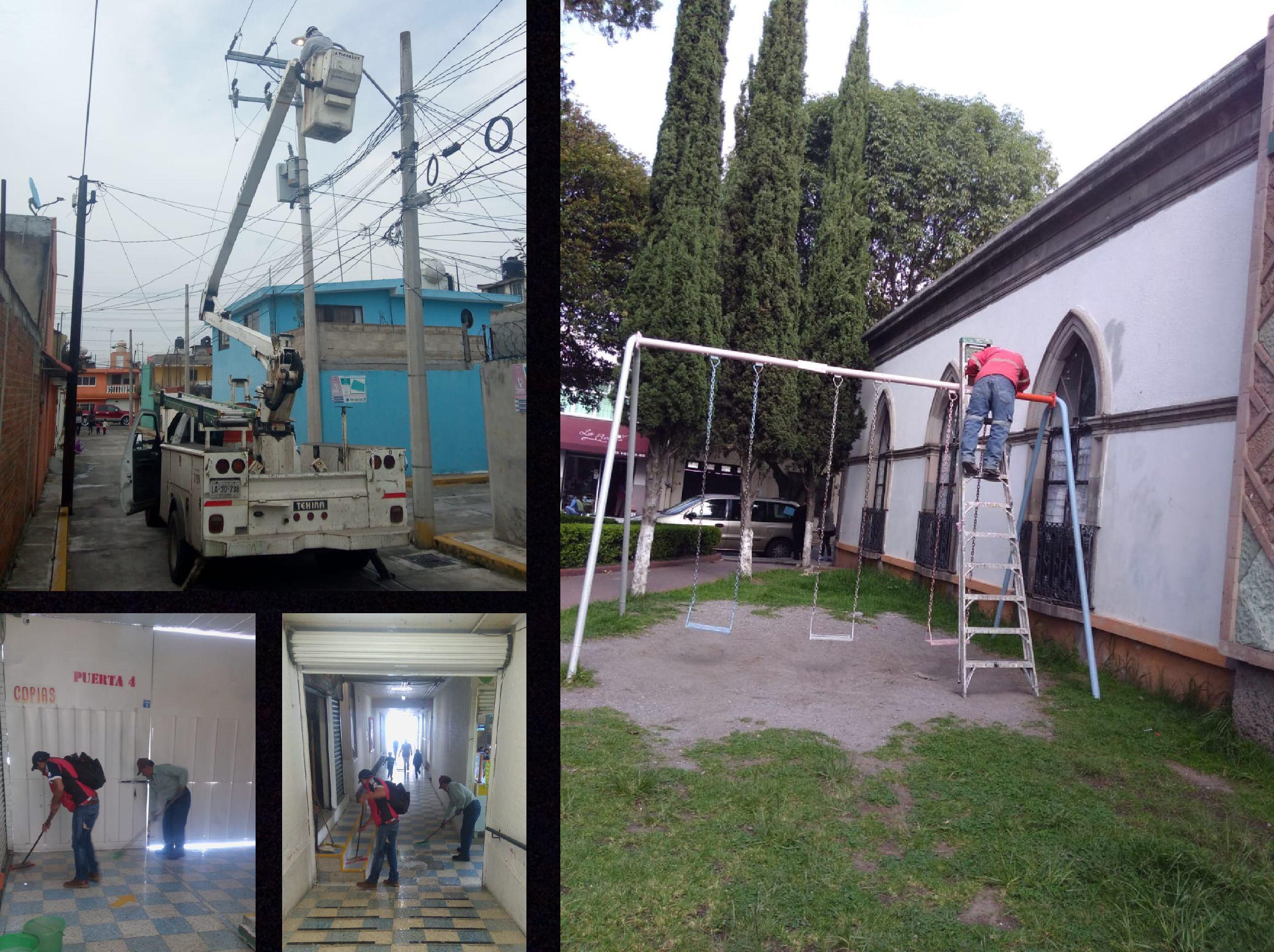 Redobla Toluca recuperación de espacios públicos