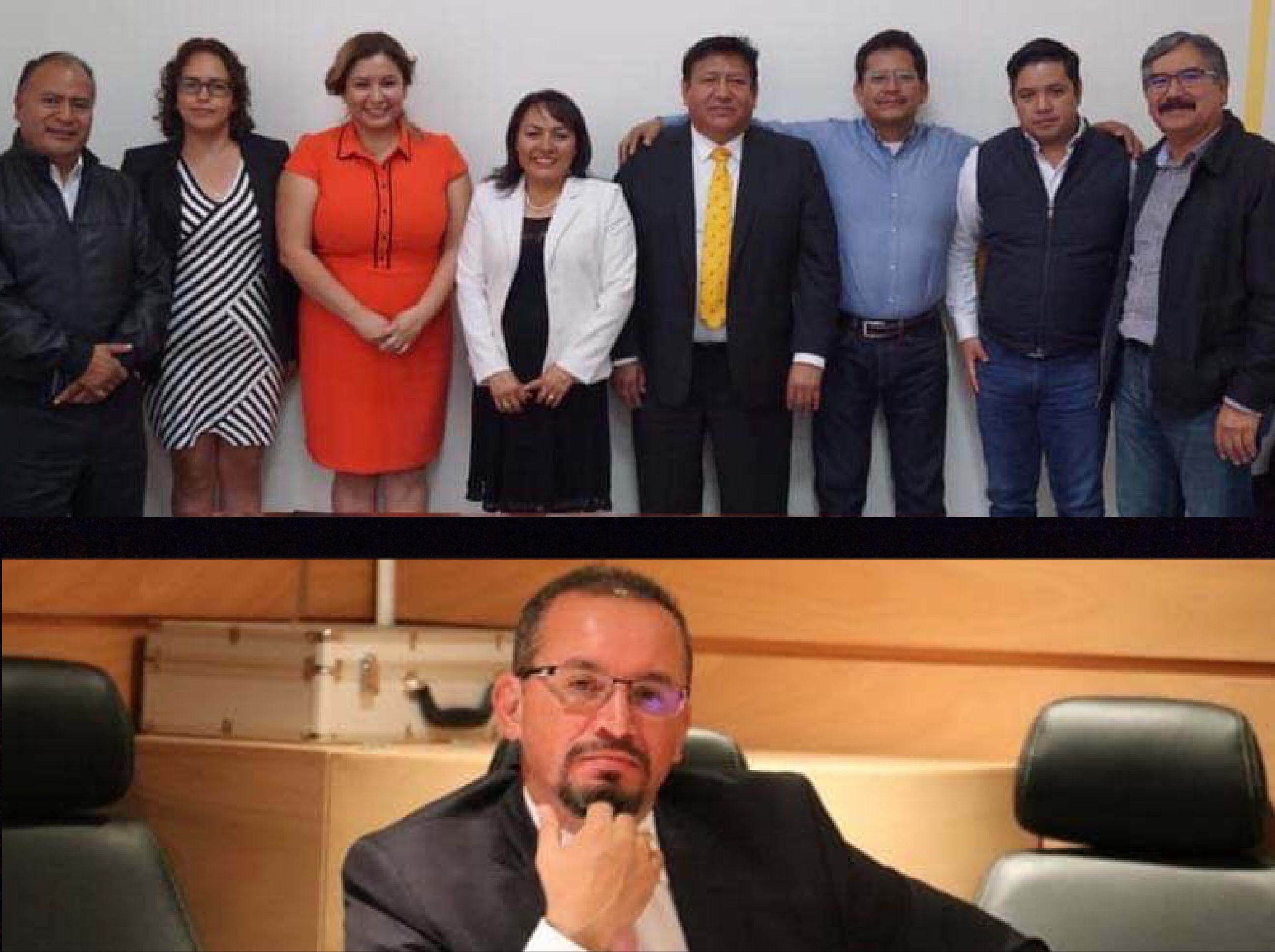 """Perredistas de Edoméx """"pintan su raya"""" con Omar Ortega"""