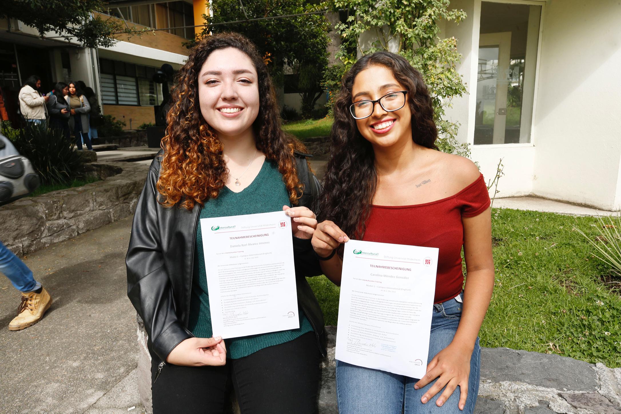 Alumnas de UAEM replican conocimientos adquiridos en Alemania