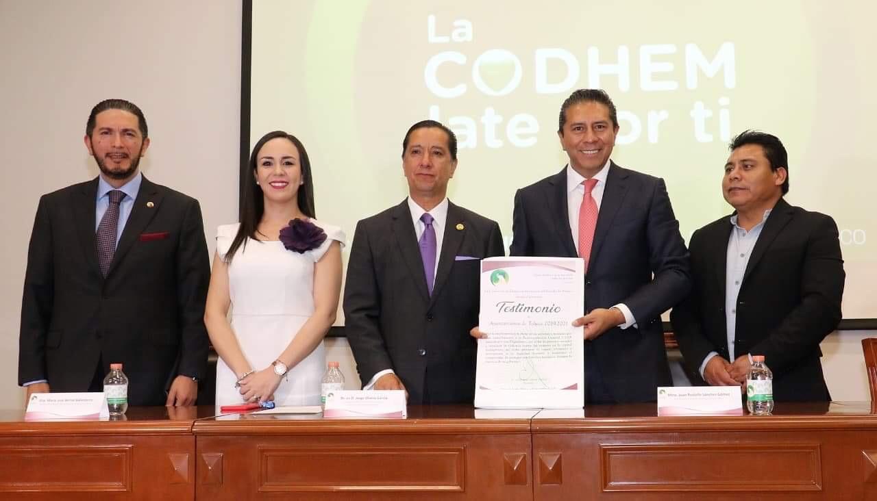 Reconoce Codhem combate de violencia feminicida en Toluca