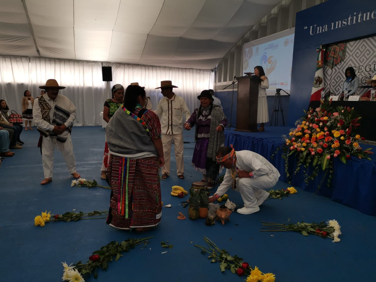 Se reúnen pueblos indígenas en Toluca