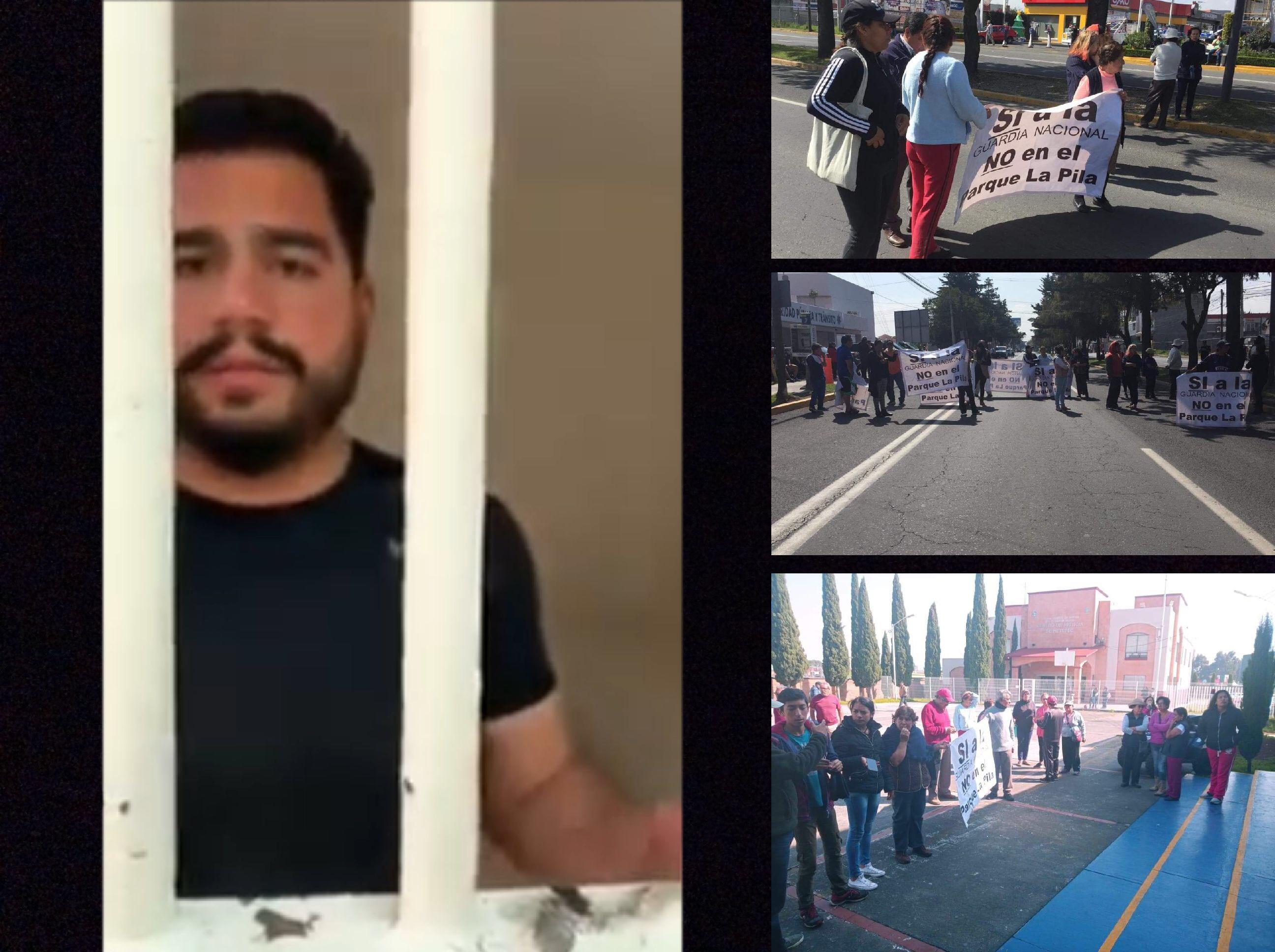 Detienen a activistas en Metepec; violaron la Ley, dice ayuntamiento