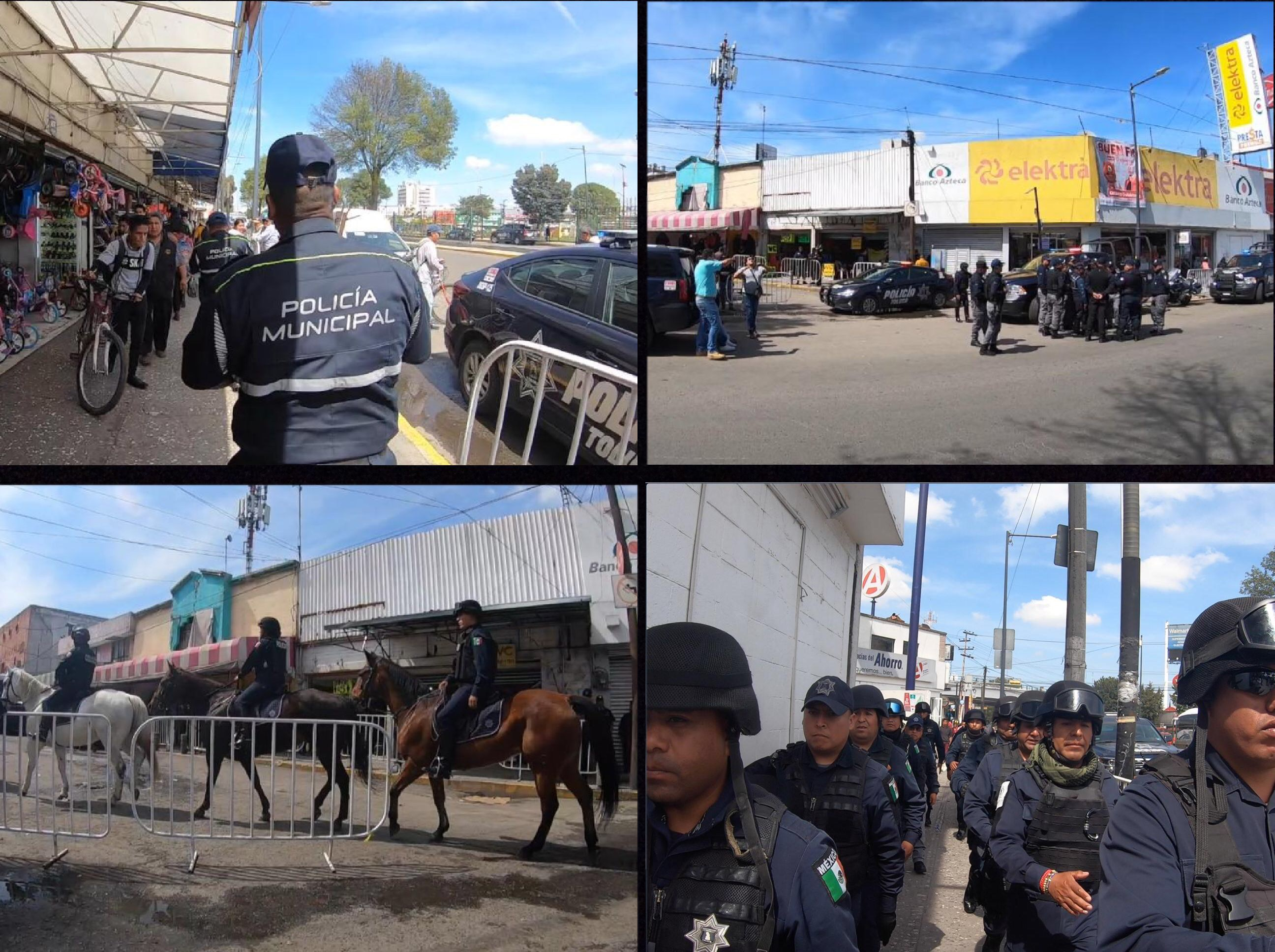 Libera Toluca inmediaciones Terminal-Mercado Juárez