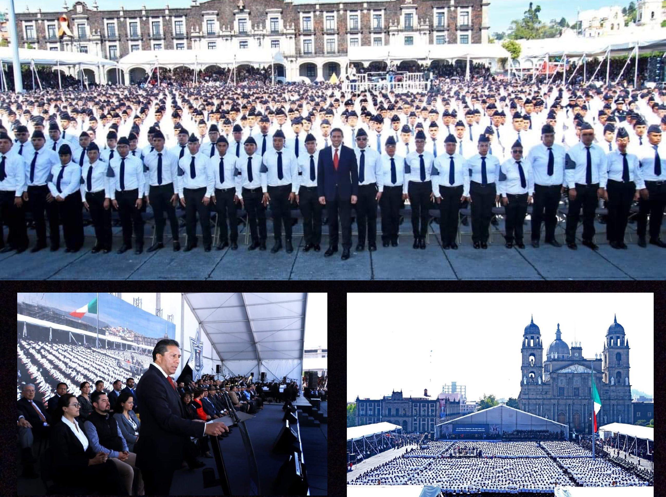 Tiene Toluca 106 nuevos policías; aplican al puesto 3 mil 300 más