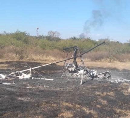 Muere alcalde de Ocuilan en incidente aéreo